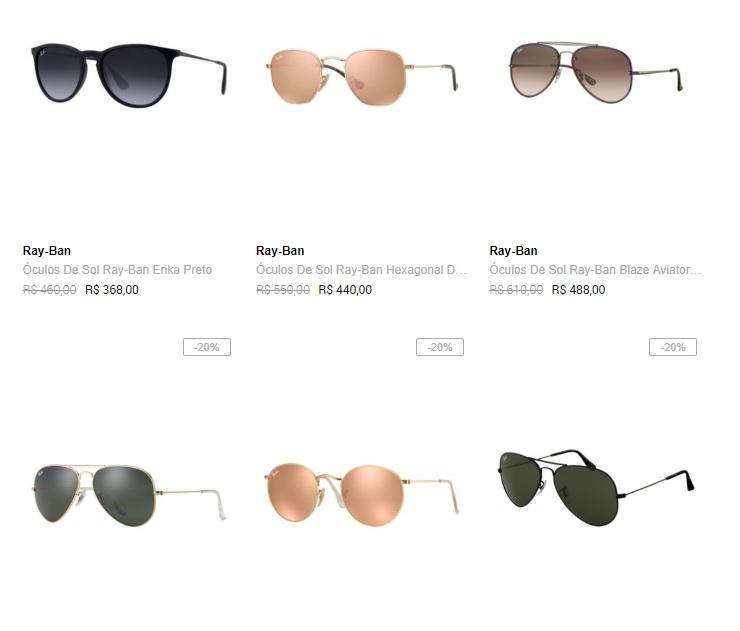 Dafiti - Óculos Ray-Ban com até 50% OFF - Pirata dos Descontos a580d913ec