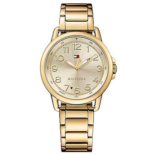 relogio tommy feminino - Relógio Tommy Hilfiger Feminino Aço Dourado - R$ 390,00