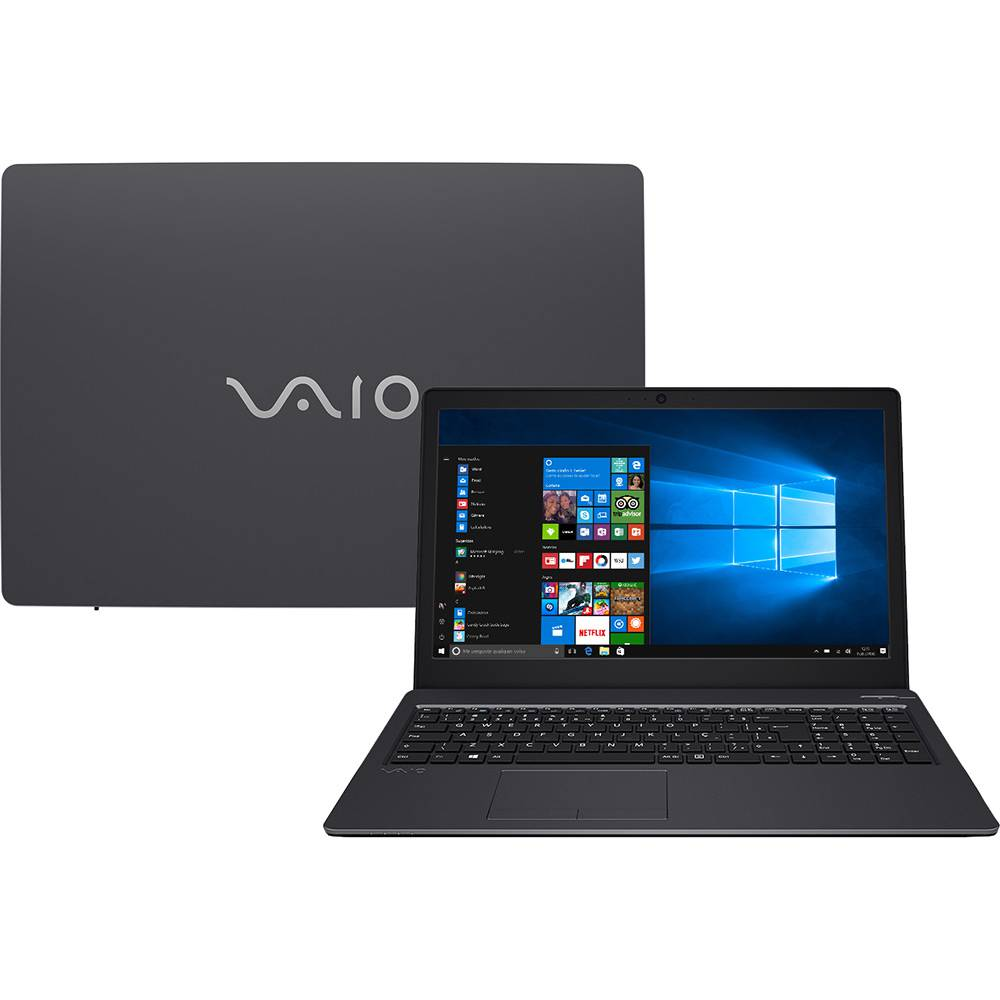 sony vaio - Notebook VAIO Fit 15S B1211B i5 128SSD 15,6 - R$ 2.583,99