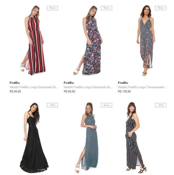 3VESTIDOS149 - Vestidos na Dafiti - Leve 3 Vestidos por R$149
