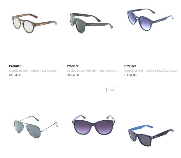 2OCULOS79 - Dafiti - Escolha 2 Óculos por R$79 - 2OCULOS79