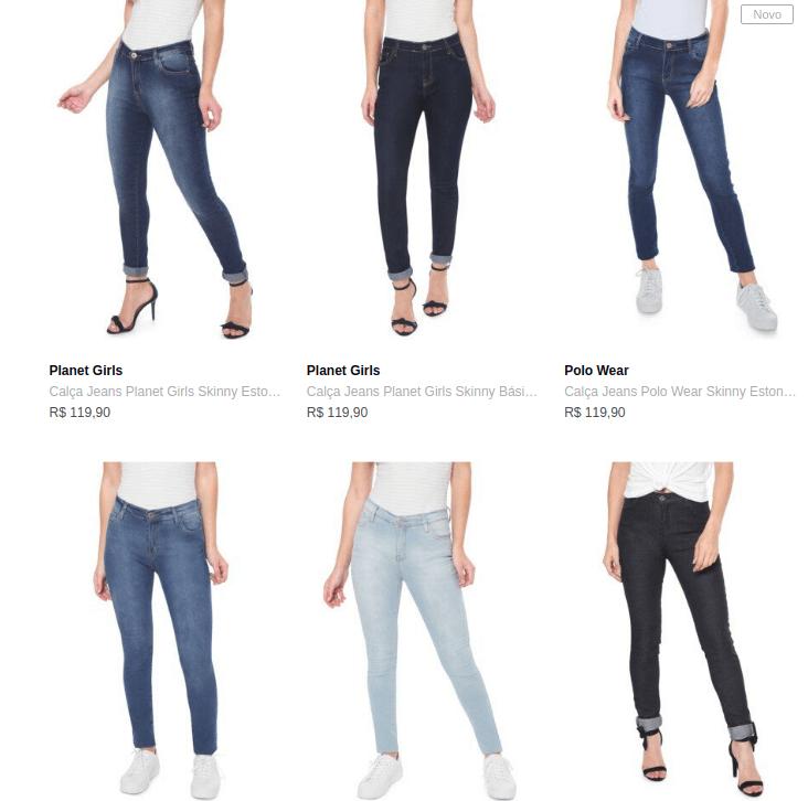 3CALCAS199FEM - Dafiti - Escolha 3 Calças Jeans Femininas por R$199 - 3CALCAS199FEM