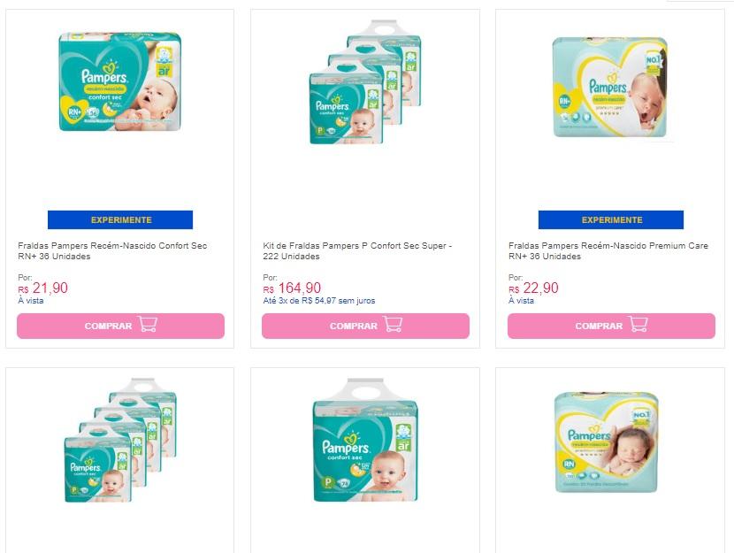 fraudas - Cupom Fraldas no Carrefour