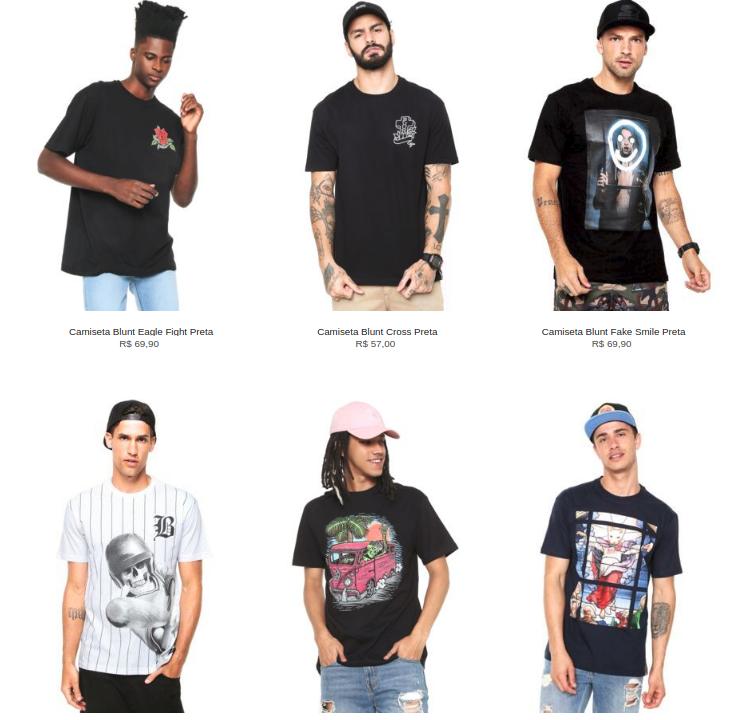Captura de tela de 2019 08 20 11 27 04 - Escolha 3 Camisetas da lista por R$99 - 3CA99M
