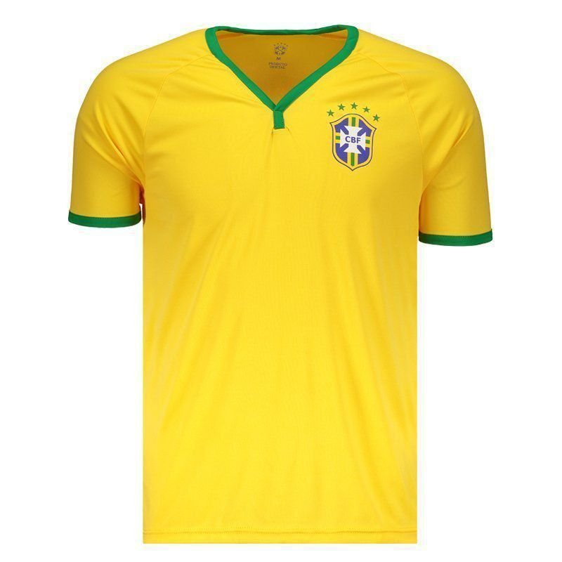 camisa brasil - Camisa Brasil CBF Amarela - R$39,90