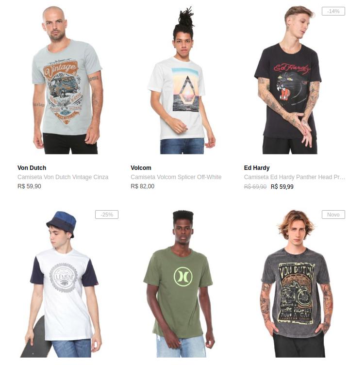 Captura de tela de 2019 11 13 07 09 43 - Dafiti - 5 Camisetas por R$199 - 5CA199M