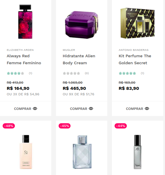 beauty box - Black Friday na BeautyBox - Brindes