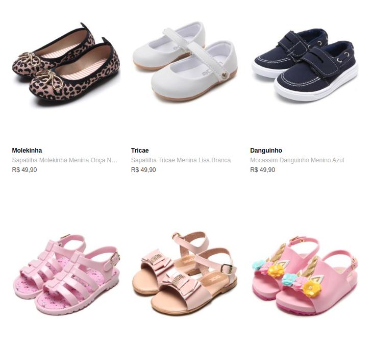 2CALCADOS75 - Dafiti - 2 Calçados Infantis por R$75 - 2CALCADOS75