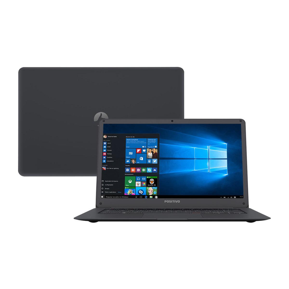 "notebook positivo - Notebook Positivo Intel Atom 14"" - R$ 869,00"