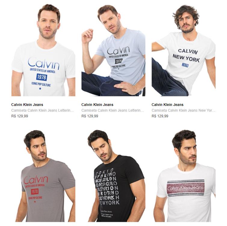 2CAMI139M - Cupom: 2CAMI139M - 2 Camisetas por R$139