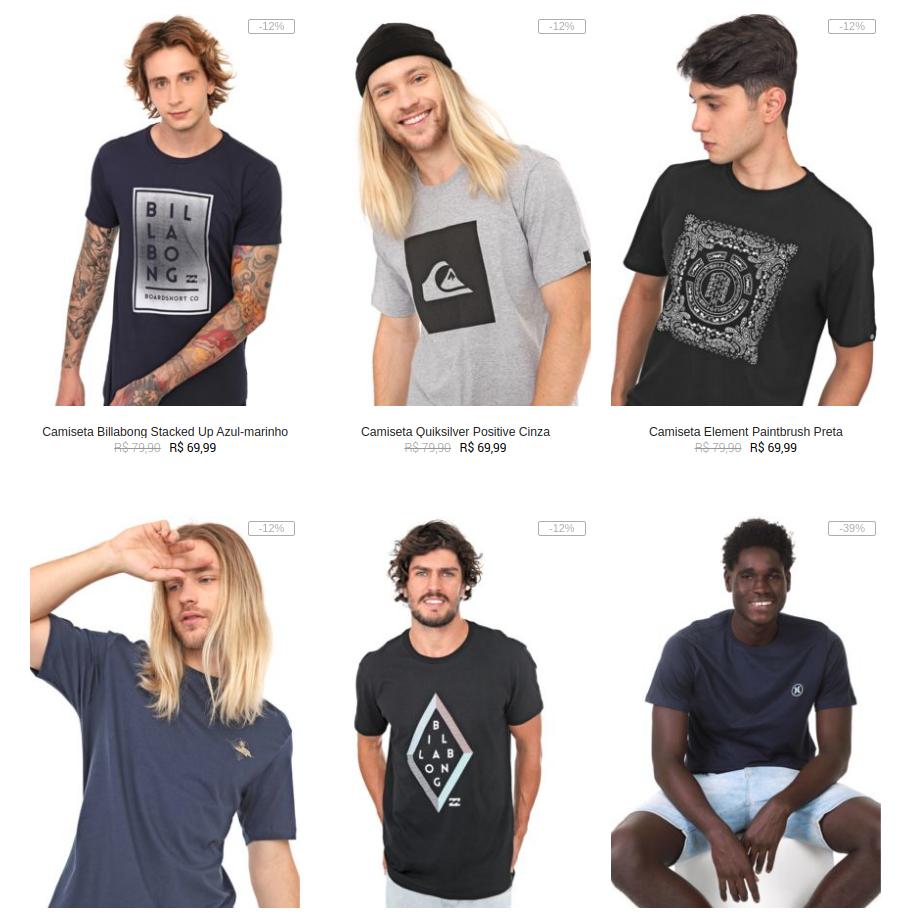 2CAM99M - Kanui - 2 Camisetas por R$99 - 2CAM99M