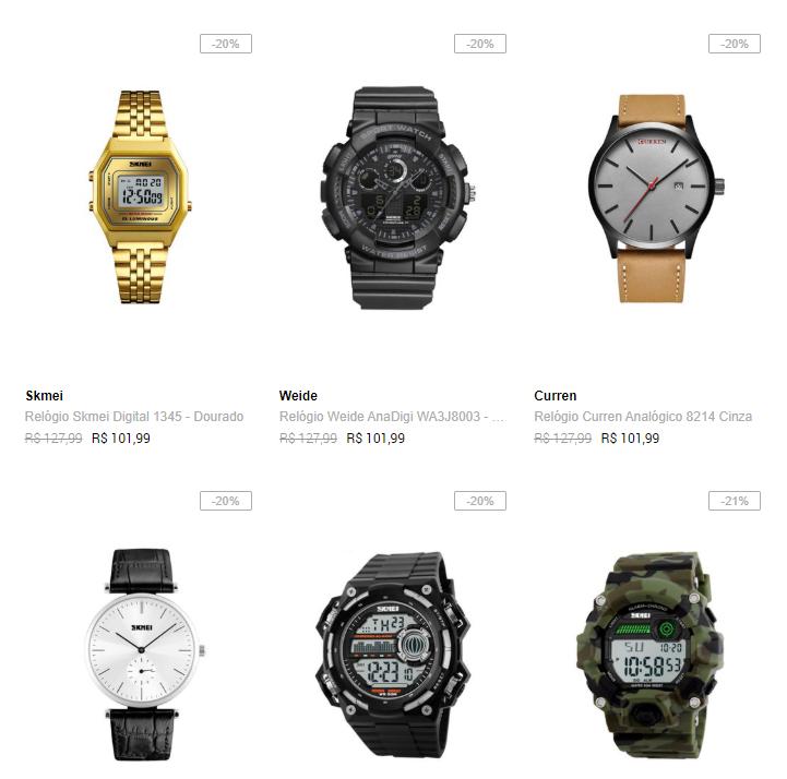 2RELOGIOS149 - Dafiti - 2 Relógios por R$149 - 2RELOGIOS149