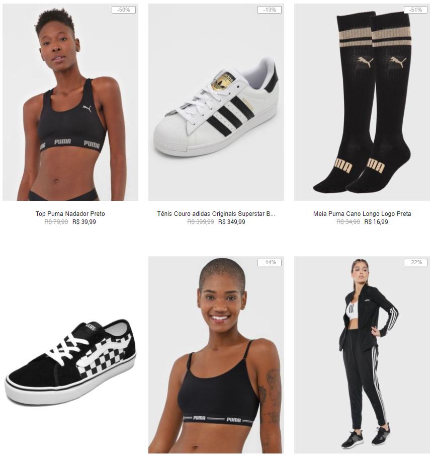 adidas puma asics vans - Kanui - Adidas, Nike, Fila e Puma com até 60% OFF