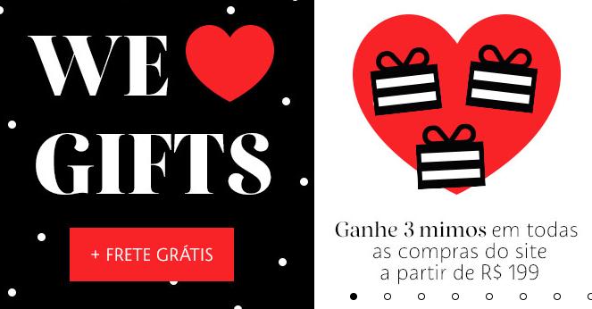 brindes - Sephora - Ganhe 3 mimos no site
