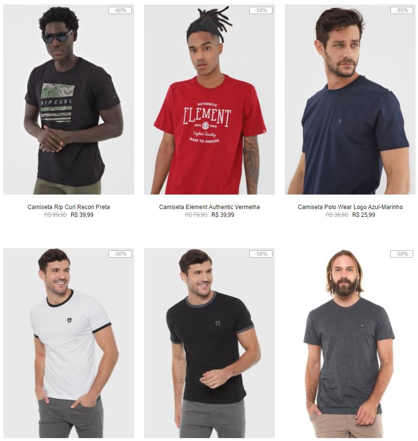 camisetas - Black Friday na Kanui - Camisetas de Surf por até R$39,99