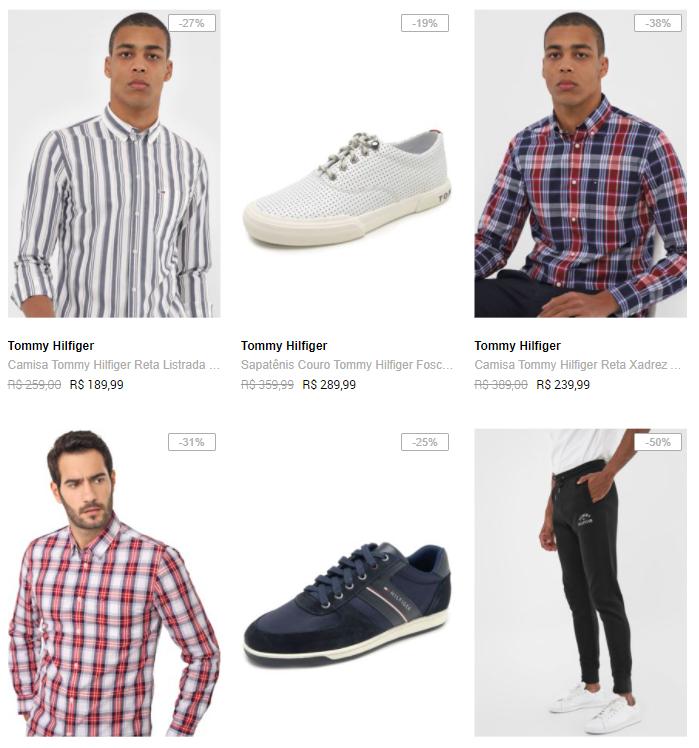 marcas premium - Dafiti - Polo Ralph Lauren, Tommy e Hugo Boss com até 30% OFF