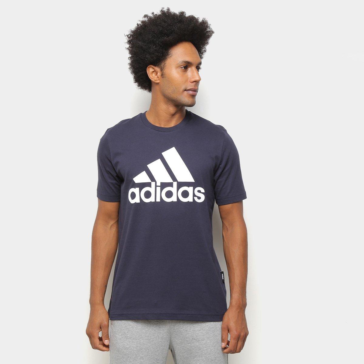 adidas camiseta - Camiseta Adidas Must Haves Badge Of Sport Masculina - R$ 54,99