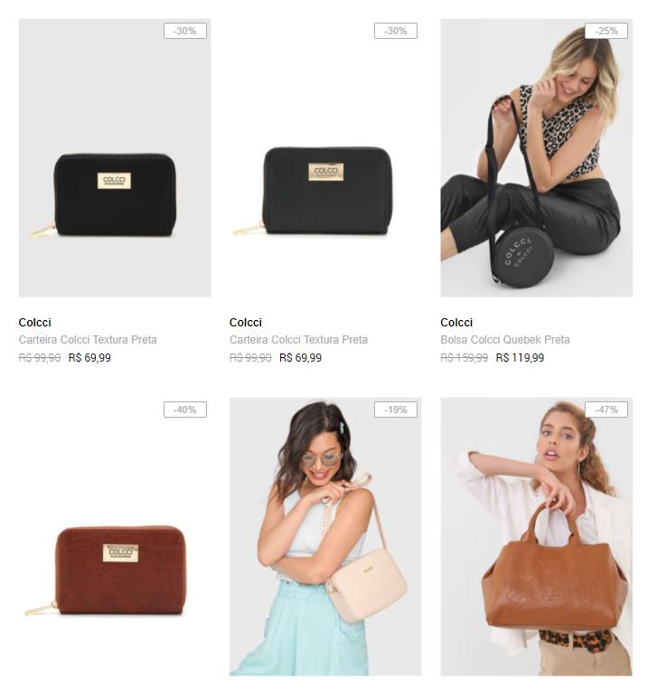 bolsa carteira colcci - Dafiti - Bolsas e Carteiras Colcci a partir de R$59,99
