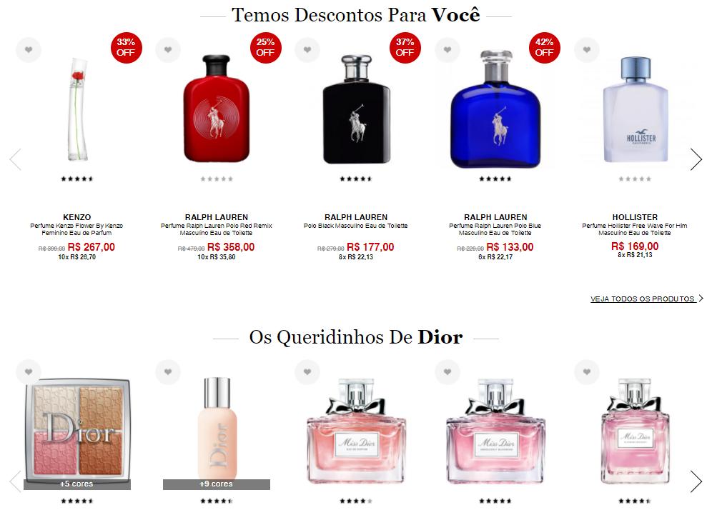 brindes - Sephora - Brindes nas compras acima de R$239