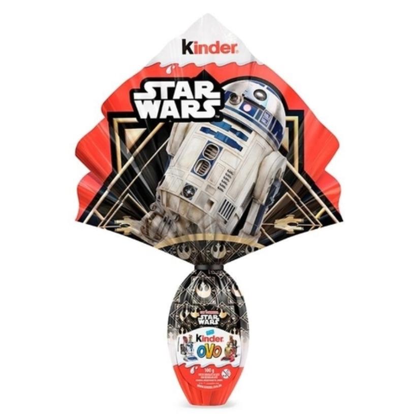 ovo kinder star wars - Americanas - Kinder Ovo Maxi Star Wars 100g Ferrero - R$ 59,99