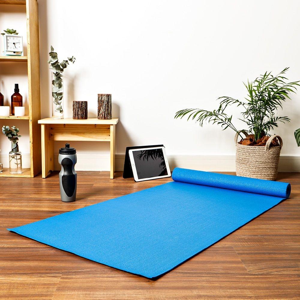 tapete yoga - Americanas - Tapete de Yoga Life Zone - R$49,99