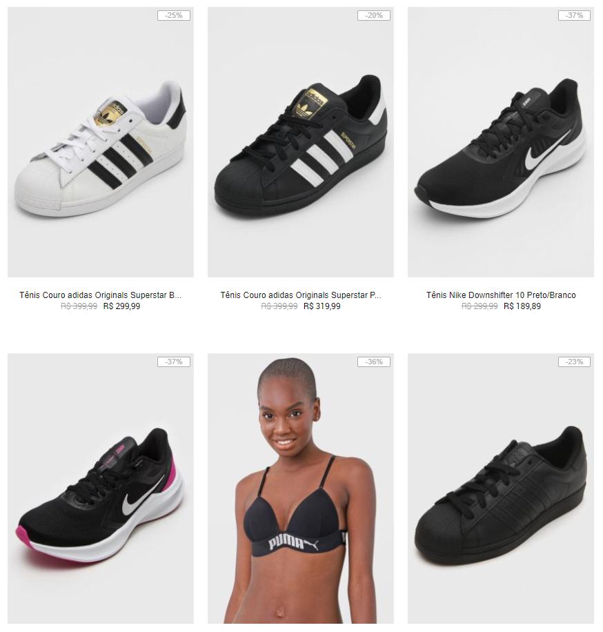adidas nike fila puma - Kanui - Adidas, Nike, Fila e Puma Feminino até 50% OFF