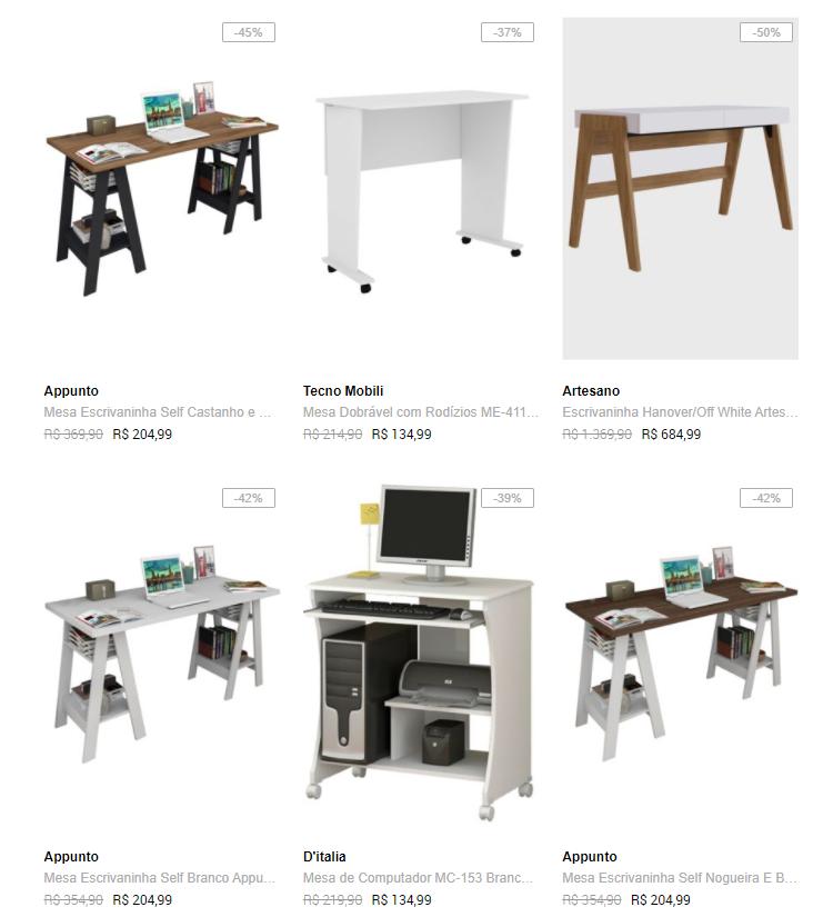 home office - Dafiti - Especial Home Office até 60% OFF