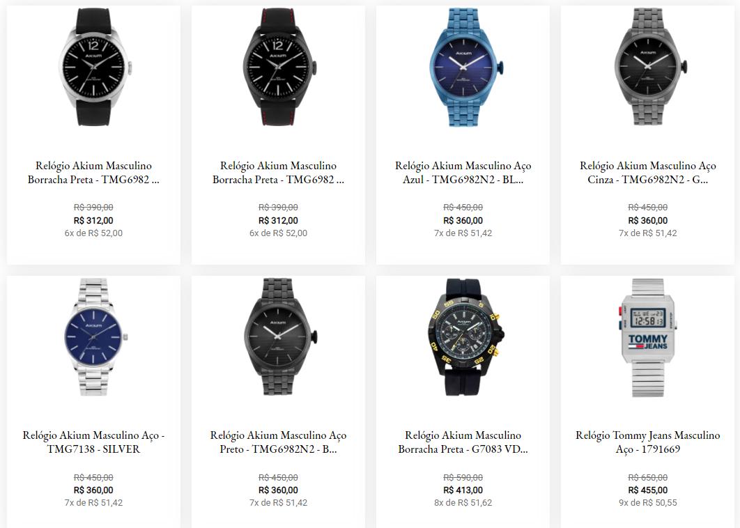 relogios masculinos - Vivara - Relógios Masculinos a partir de R$312,00