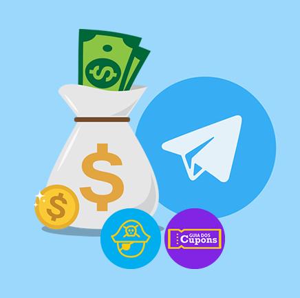 logo - Canal de Cupons e Promoções no Telegram