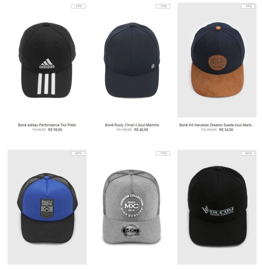 bones - 🧢 Kanui - Bonés até R$59 - Volcom, Adidas, New Era