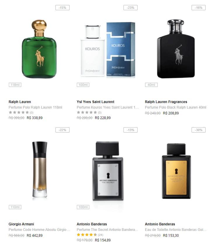 perfumes - Dafiti - Perfumes Importados a partir de R$59,91