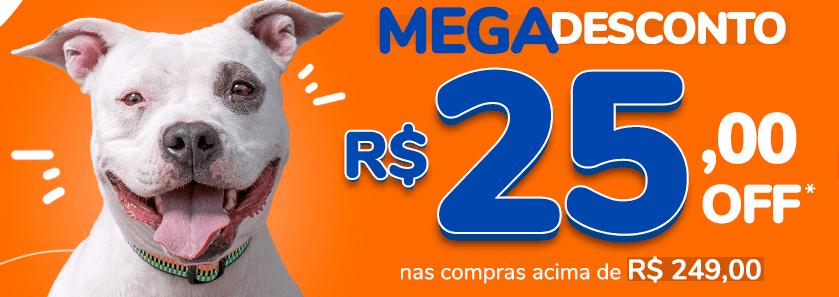 GANHOU25 - Cobasi - Cupom de R$25 OFF