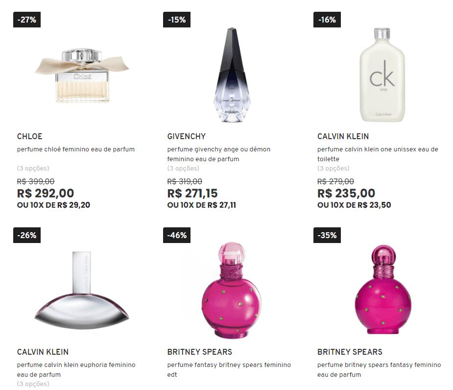 perfumes - Sephora - 9 Anos - No mínimo 15% OFF