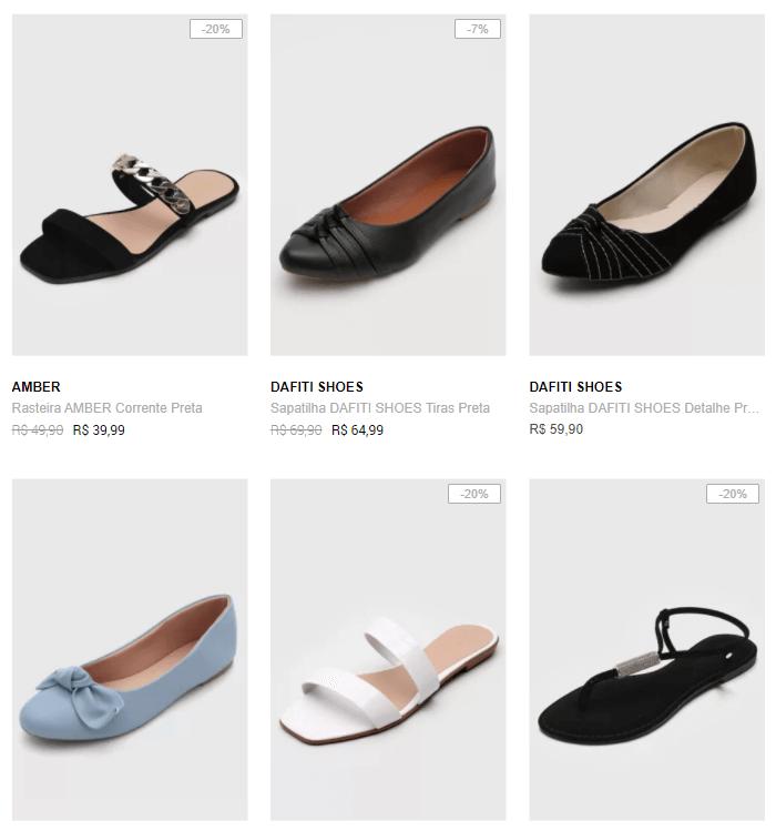 3 sapatilhas 99 1 - Dafiti - 3 Sapatilhas por R$99 - Novos Modelos