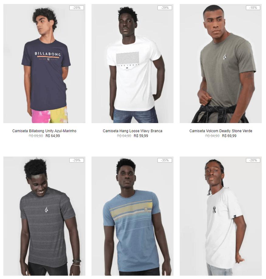 3CAM149 - Kanui - 3 Camisetas por R$149 - 3CAM149
