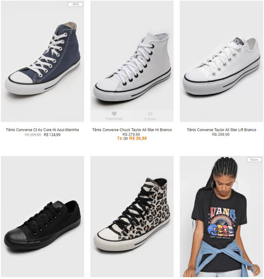 vans converse - 👟 Kanui - Especial Vans e Converse - 10% OFF Extra