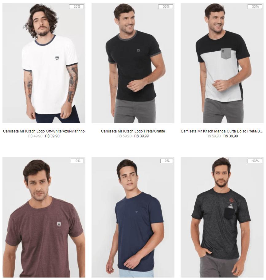 CAM3X99 - Kanui - 3 Camisetas por R$99 - CAM3X99